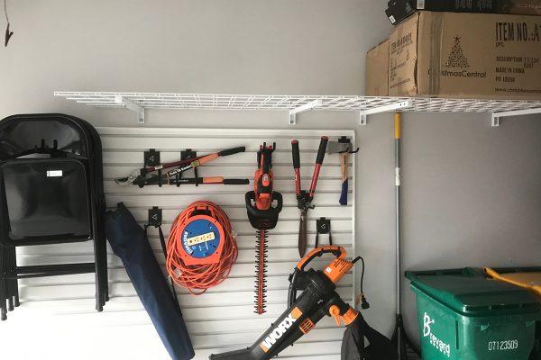 garage wall slats jacksonville florida
