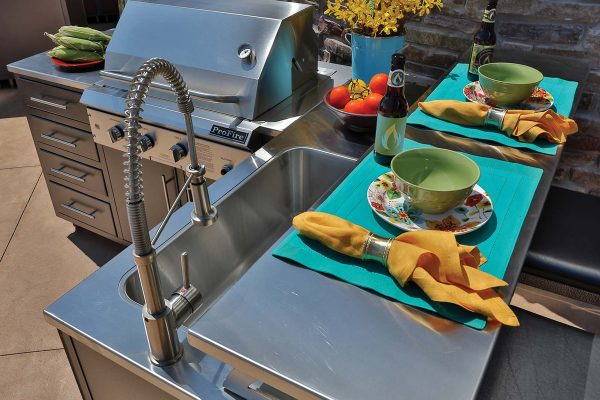 portable stainless outdoor kitchen and grill jacksonville