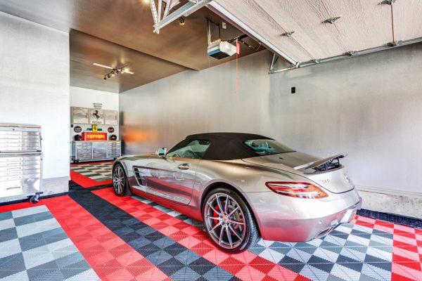 Jacksonville Florida garage and patio-modular garage floor tiles and Nocatee Residential garage flooring
