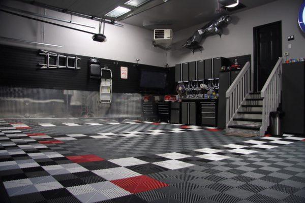 Nocatee and Jacksonville garage looring tiles-Florida garage and patio