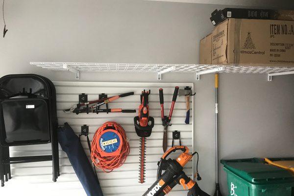 garage overhead shelving jacksonville