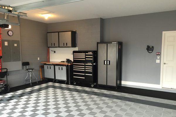 jacksonville garage overhead-storage and garage shelving