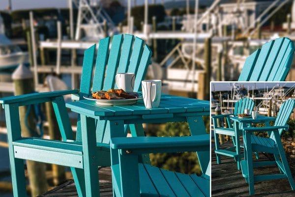 outdoor furniture jacksonville bar height adirondack chairs