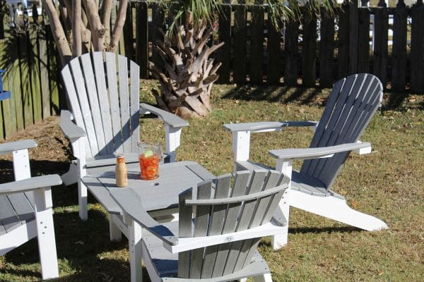 outdoor furniture jacksonville red adirondack chairs